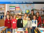 les classes de l cole4