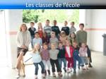 les classes de l cole5