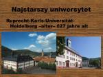 najstarszy uniwersytet