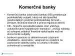 komer n banky