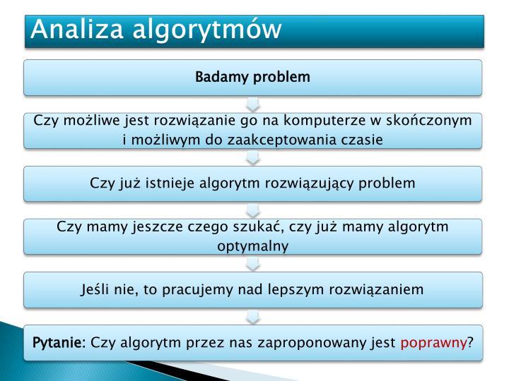 Analiza algorytmów