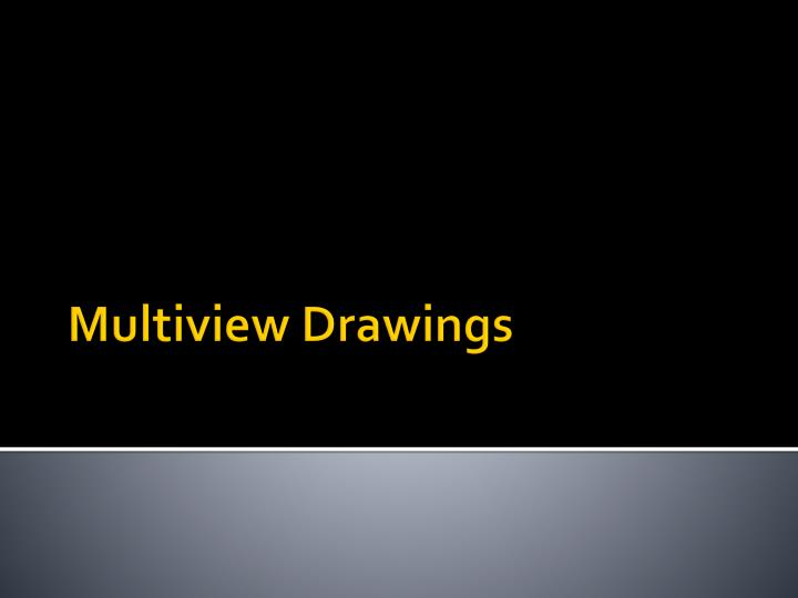 multiview drawings n.