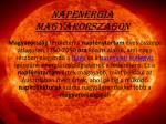 napenergia magyarorsz gon