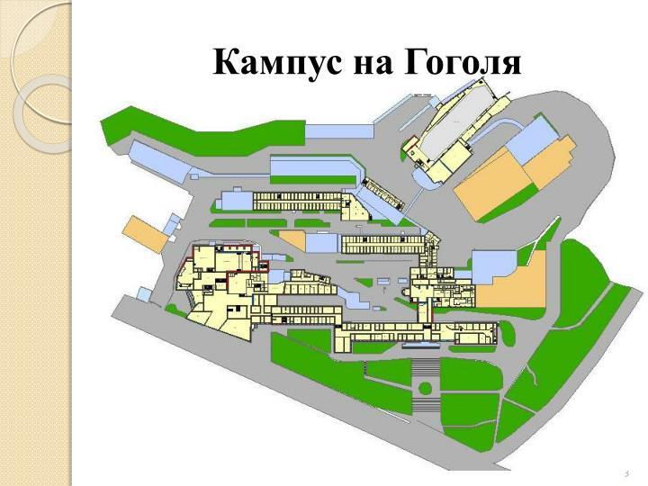 Кампус на Гоголя