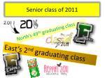 senior class of 2011