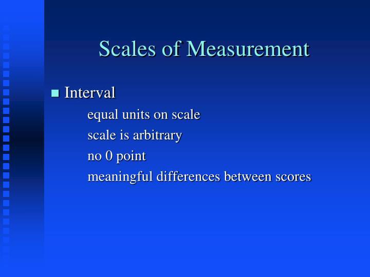 Scales of measurement2