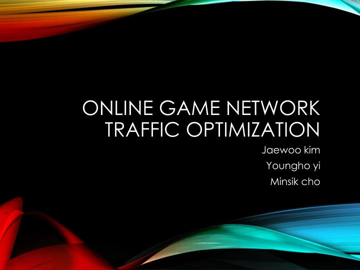 online game network traffic optimization n.