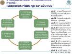 6 succession planning
