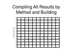 compiling all results by method and building1