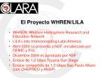 el proyecto whren lila