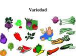 variedad