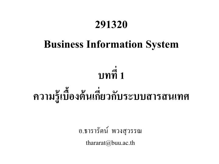 291320 business information system n.