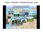 events geography awareness week maps