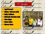 7 th grade