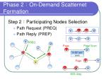 phase 2 on demand scatternet formation1