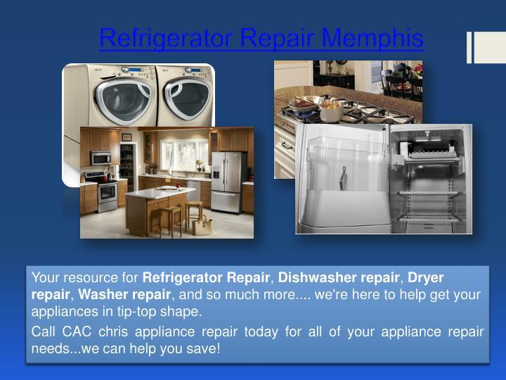 Refrigerator repair memphis