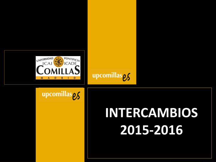 intercambios 2015 2016 n.