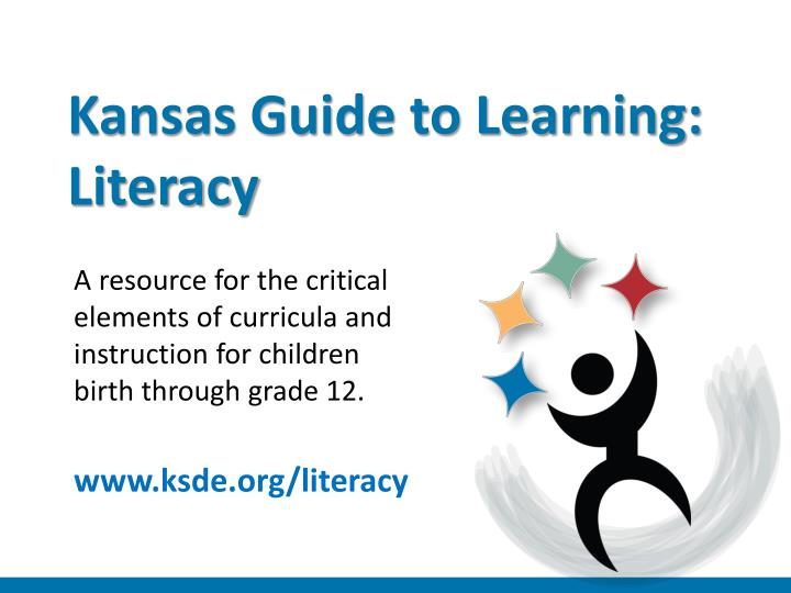 kansas guide to learning literacy n.