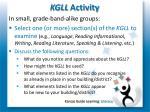 kgll activity
