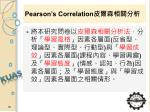 pearson s correlation