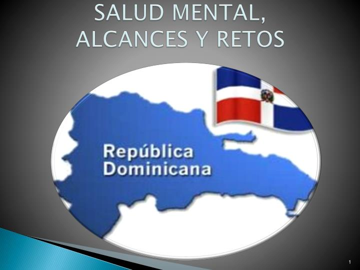 salud mental alcances y retos n.