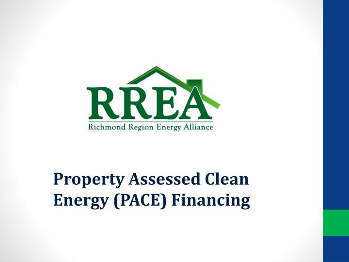 property assessed clean energy pace financing n.