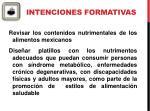 intenciones formativas