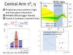 central arm p 0 h