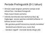 periode prelinguistik 0 1 tahun