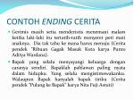 contoh ending cerita