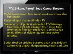 ftv sitkom parodi soap opera sinetron