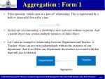 aggregation form 1