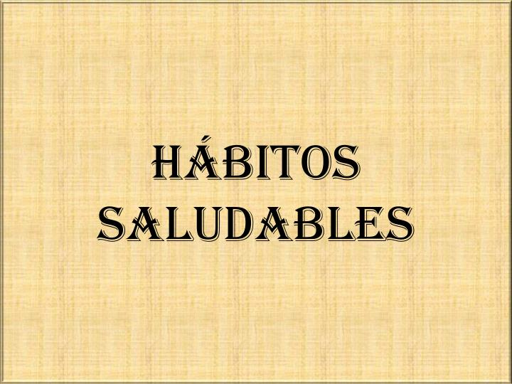 h bitos saludables n.