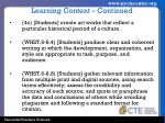 learning content continued2