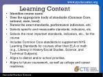 learning content1