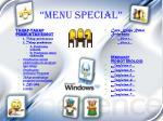 menu special