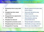 creative imitation creative adopters