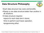 data structure philosophy
