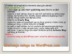 kreiranje naloga na wordpress com