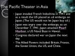 the pacific theater in asia