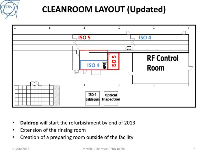 CLEANROOM LAYOUT (Updated)