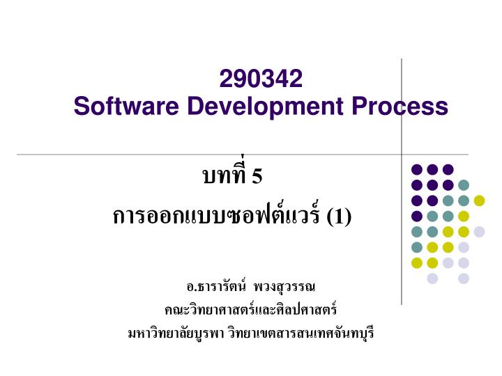 290342 software development process n.