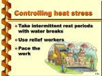 controlling heat stress1