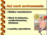 hot work environments1