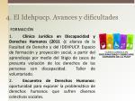 4 el idehpucp avances y dificultades1