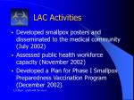 lac activities1