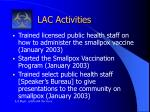 lac activities2