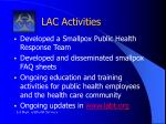 lac activities3