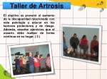 taller de artrosis