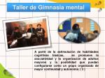taller de gimnasia mental